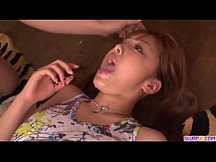 Gorgeous Anri Hoshizaki blowjob gangbang XXX  - More at Slurpjp.com
