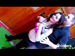 Spanish MILF Sara Glock Has Her Big Culo Spanked Red