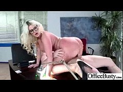 (julie cash) Office Girl With Big Tits In Hard Sex Scene mov-20