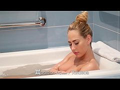 Blonde fucked on vacation