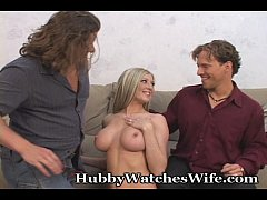 Super Hot Wife Swings With Stud