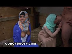 tour of booty - muslim women get picked up and banged by our troops