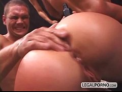 Sexy girl fight ends in hard sex with two big dicks NL-2-01