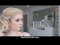 Bracefaced - Hot Teen With Braces Fucked During First Date