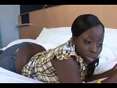 Thick Phat Ass Ebony sista rides a dick in Black Big Ass Porn Video