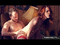 PORNFIDELITY Spanish Redhead Amarna Miller Fucked Rough