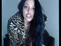 Cum in heels and fur,and Leana's hairy pussy!