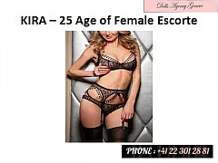 Kira Age of 25 Years Female Geneve, Suisse Escorte – www.Dolls-Agency.com