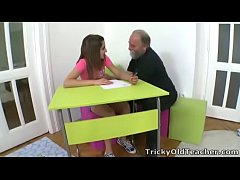 Tricky Old Teacher - Ulia is a sexy young student who is having school trouble