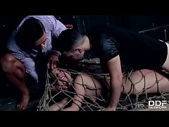 Realtor And Client Double Penetrate and Punish a Submissive Beauty
