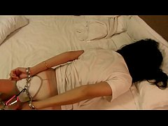 hogtied girlfriend in hotel