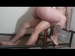 andrea climbs my cock and has an orgasm
