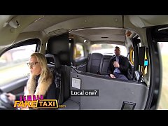 HD Female Fake Taxi Hot busty blonde sucks and fucks her businessman fare