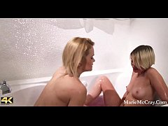Blaten Lee Shower Time Fun WIth Marie McCray