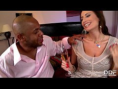 Early days Interracial for Busty Sex Goddess Sensual Jane