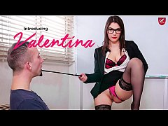 PORNO ACADEMIE - Hot teacher Valentina Nappi hardcore DP and anal