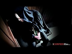 ConfessionFiles: British Babe Fucks in Confession Booth