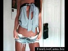 amazing girl hot webcam strip