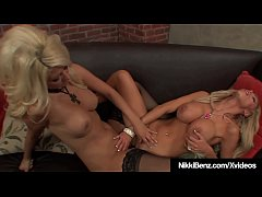 Finger Fucking Nikki Benz & Jazy Berlin Make Each Other Cum!