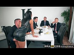 brazzers - real wife stories - the dinner party scene starring adriana chechik keiran lee ramon