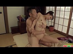 Hot japan girl Yui Oba in rough sex scene with younger man