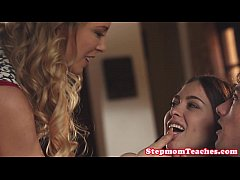 Cherie Deville threesome with teen Riley Reid