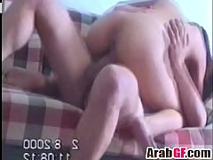 Amateur Arab girlfriend gets fucked hard on the bed