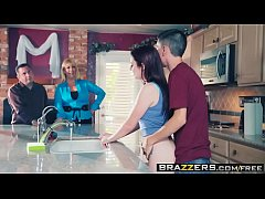 brazzers - teens like it big - doing the dishes scene starring karlie brooks and jordi el ni and nt