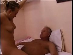 playful british housewife invited two well-stuffed dudes to scratch her cock hungry cunt