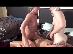 Tag Team Seduction - Milfs Seduce BBC Plumber