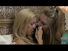 busty american milf alexis fawx and anya olsen have lesbian sex