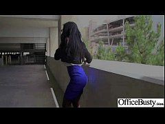 Sex In Office Class With Big Juggs Worker Girl video-13