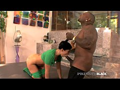 Private Black - Dark Dicked Ashli Orion Gets BBC Up The Butt