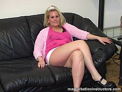 Teasing men by spreading legs and rubbing her cunt