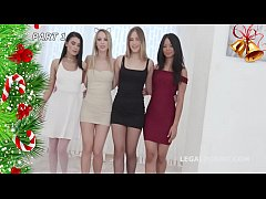 This ain't Xmas Orgy #1 With Kira Thorn \/ Jureka Del Mar \/ Selvaggia \/ Nicol
