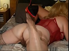 Two hot mature Kitty Foxx and Alice In Swingland in hot group sex session with lots of fucking