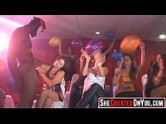 06 hot milfs at cfnm party caught cheating