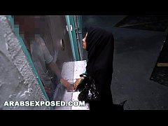 ARABSEXPOSED - Muslim Lady Seeks Refuge And Gets Special Treatment
