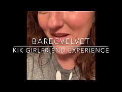 Barecvelvet KIK Girlfriend Experience - fun hot milf