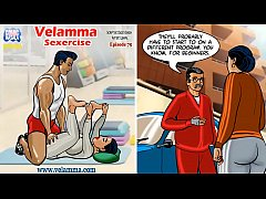 Velamma Episode 75 - Sexercise