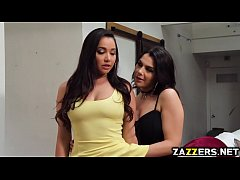 Valentina Nappi sucks Karlee Greys big tits