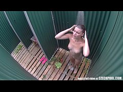 Amazing Young Girl Shower´s Voyeur