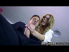Brazzers - Big Tits at Work - Stacey Saran and Ryan Ryder - The Firm and the Fanny