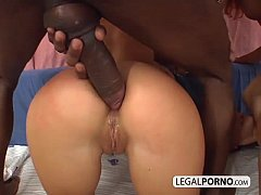 Sweet white anuses filled with black cocks ITS-1-01