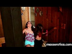 Sensual Oil Massage turns to Hot Lesbian action 26