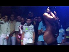Sexy Chica Strips Naked at Colombian Salsa Club (Camera Phone Video)