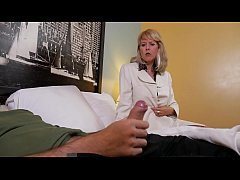 Beautiful Mature Old Lady Blowjob