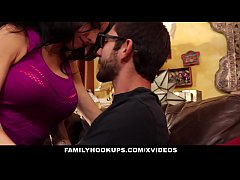 FamilyHookUps - Stepmom Seduced and Plowed by Stepson