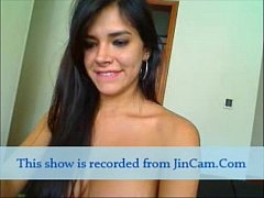 Beautiful latina teasing pussy and fun chat sex online