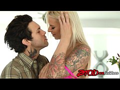 Brooke Banner gets fucked by a tattooed stud